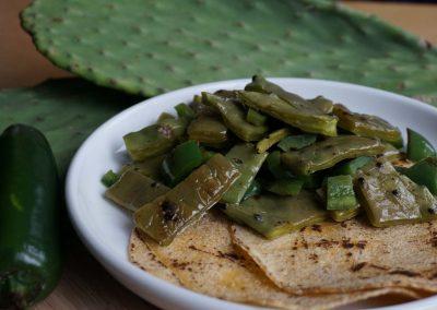 Nopales Tiernos (Tender Cactus)